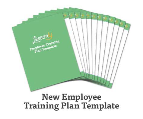 training plan template easy capture employee cruzrich