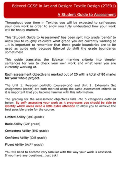 art design edexcel edexcel art design student guide to assessment by
