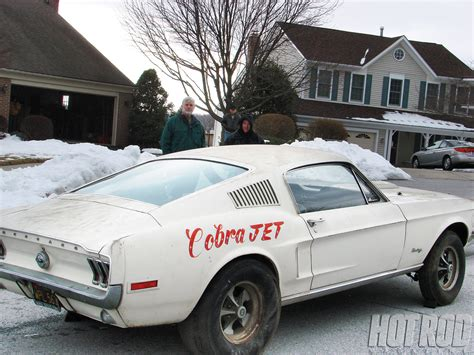 rare muscle cars ford 135 series cobra jet rare find rod network