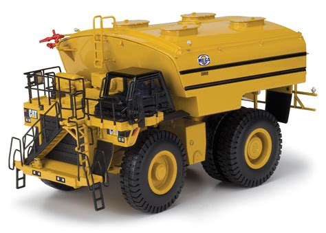 mega dump truck www scalemodels de cat dump truck 785d with mega water