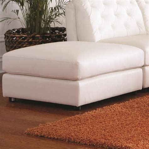 oversized ottoman slipcover home furniture design