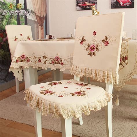 Table Chair Cover by Aliexpress Buy Ty218 Fashion Embroidered Rustic