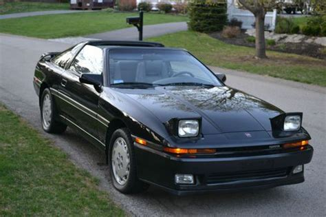 Toyota Supra Mpg Find Used 1988 Toyota Supra Turbo Sport Roof Low Mileage