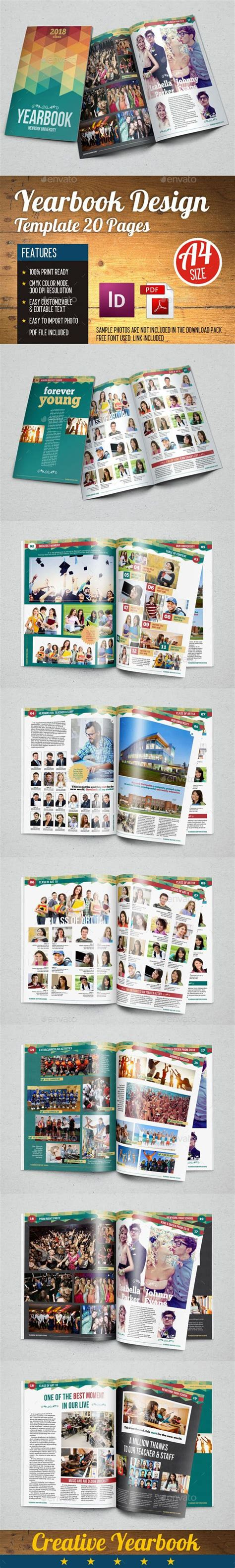 indesign tutorial yearbook yearbook template design vol 1 print 1 quot and design