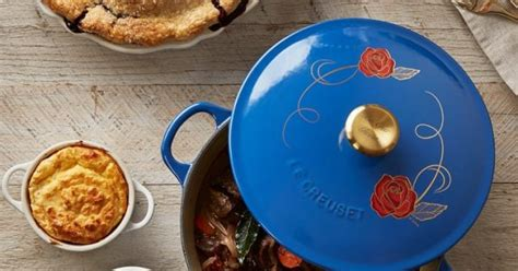 le creuset beauty and the beast limited edition beauty and the beast le creuset cookware