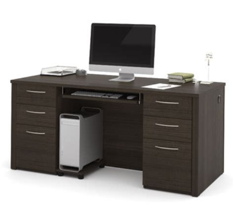 very nice wood desk and credenza inyouroffice 7 contemporary credenza desks for your office cute furniture