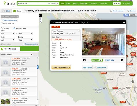 trulia announces trulia estimates now in open beta photo