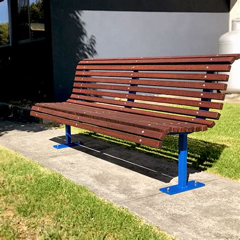 park seats benches outdoor furniture for schools councils commercial