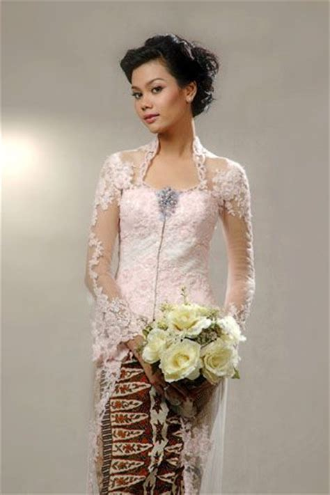 model jarik dan kebaya baju pengantin muslim dan model kebaya pengantin modern