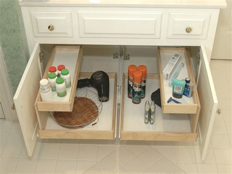 under sink storage ideas bathroom diy under sink storage best storage design 2017
