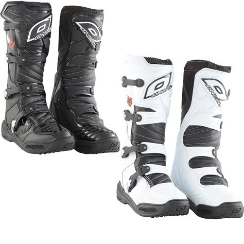 Oneal Element Platinum Motocross Boots Boots