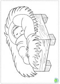 Pin coloring page nativity scene img 6448 on pinterest
