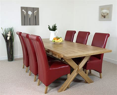 ebay uk dining table and 6 chairs chunky solid oak