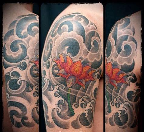 oriental tattoo clouds 55 amazing clouds shoulder tattoos