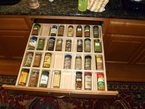 Spice Drawer Organizers by Spice Storage Solutions Seattle By Shelfgenie Of Seattle