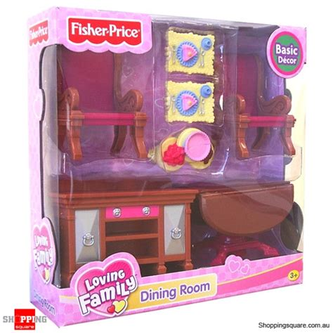 fisher price loving family basic decor furniture dining