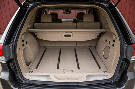 Jeep Grand Trunk Space 2014 Jeep Grand V 6 And V 8 Tests Truck Trend