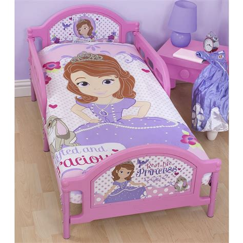 sofia the first toddler bed set disney sofia the first bedding single double junior