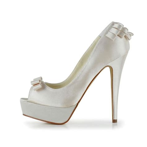 Platform Wedding Shoes by Andrea Platform Wedding Shoes Bridal Shoes