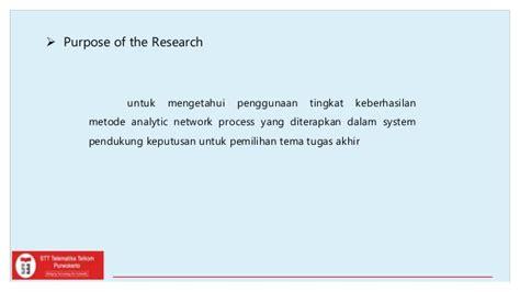 format proposal tugas akhir telkom university seminar proposal tugas akhir spk pemilihan tema tugas