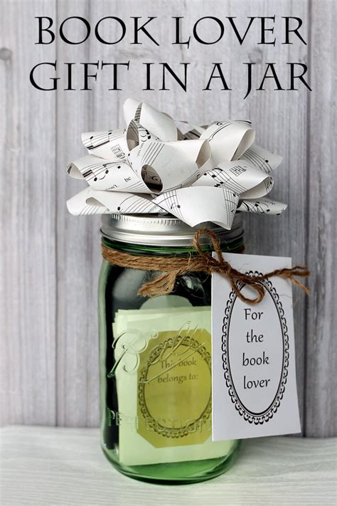 book lover gift in a jar the country chic cottage