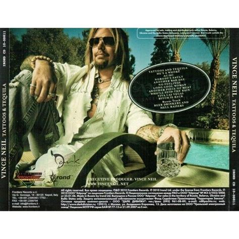 vince neil tattoos tattoos tequila by vince neil cd with techtone11 ref