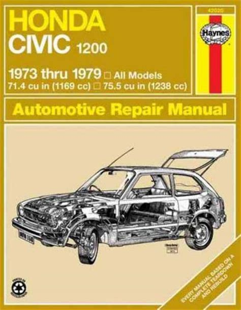 haynes workshop repair manual for honda civic jan 06 12 55 to 12 5913 ebay honda civic 1200 1973 1979 haynes service repair manual sagin workshop car manuals repair