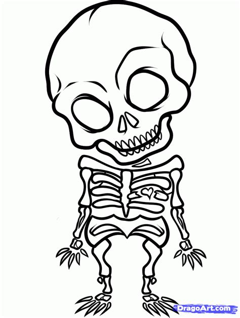 easy skull tattoo designs how to draw an x skull chibi skull step by
