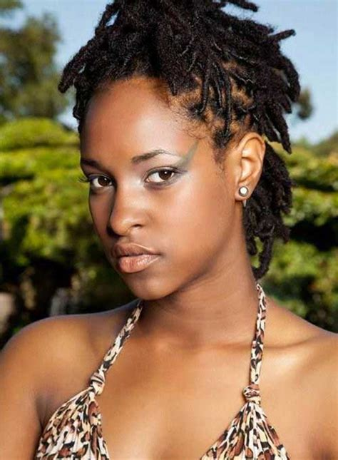 hairstyles for locs for women cute short haircuts for black women the best short