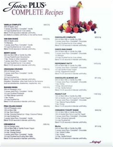 Juice Plus Detox Breakfast Ideas by 1000 Images About Juice Plus Complete Recipes On