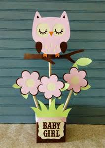 baby shower owl centerpieces owl baby shower centerpiece centerpieces pink owl and