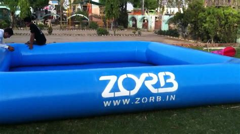 inflatable boat online india we are india s inflatable swimming pool zorbing zorb