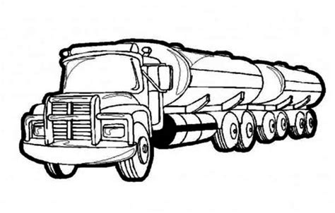 oil truck coloring page truck coloring pages the dump truck fireman truck etc