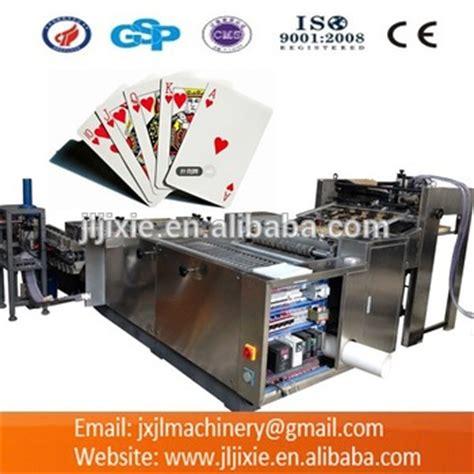 Gift Card Buying Machine - pk54 55 playing cards making machine buy playing card slitting machine paper