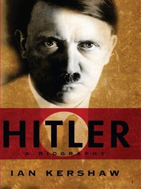 biography of hitler in english hitler a biography ian kershaw books pinterest