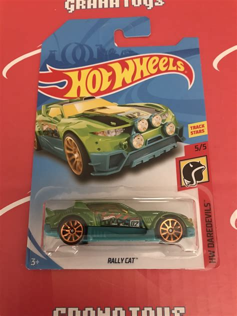 Wheels Hotwheels Rally Cat rally cat green daredevils 2018 wheels e grana toys