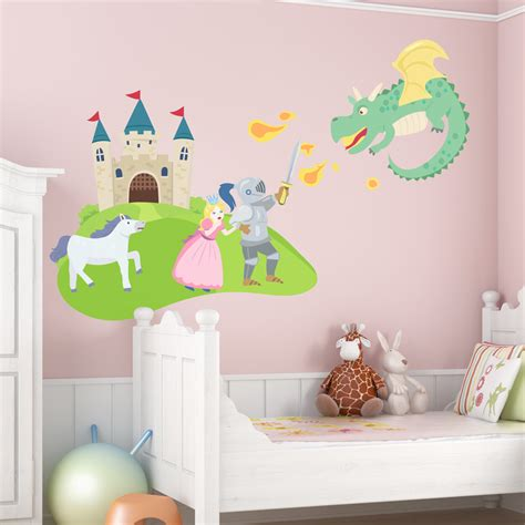 Stickers For Kitchen Walls fairy tale castle wall decal fairy tale wall sticker