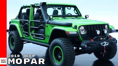 mopar jeep wrangler 2018 jeep wrangler mopar offroading