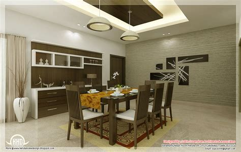 Interior Design For Kitchen And Dining Kitchen And Dining Interiors Kerala Home