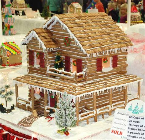 gingerbread log cabin template artwife needs a gingerbread houses at 2012 festival