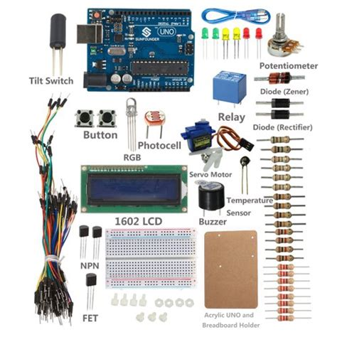 Kaset Ps4 Project Card Region 1 sunfounder project 1602 lcd starter kit for arduino uno r3 mega2560 mega328 nano with uno r3