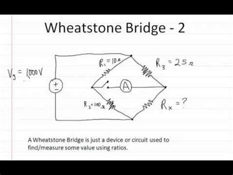 wheatstone bridge practice problems wheatstone bridge funnycat tv