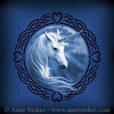 anne stokes tattoo designs fae 187 celtic unicorn design http www annestokes