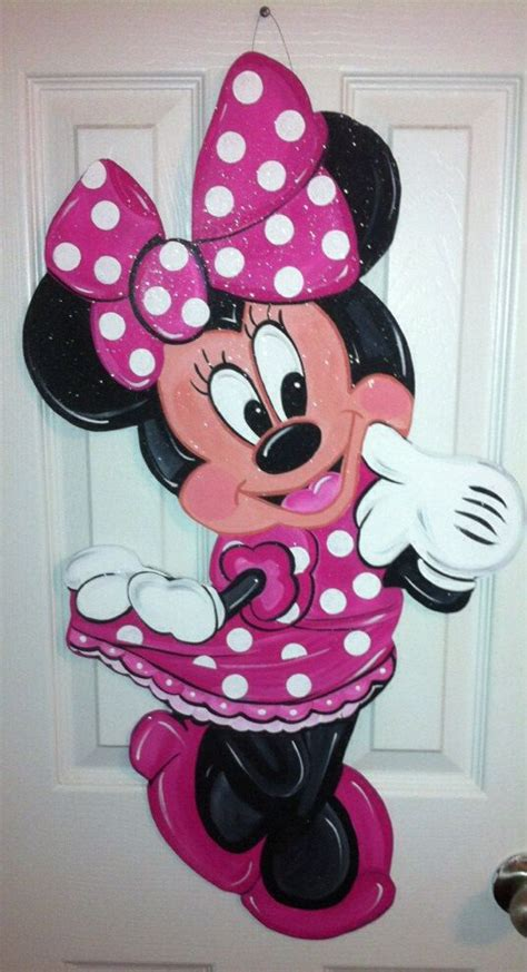 Minnie Mouse Hanger 208 best painting mickey minnie mouse images on