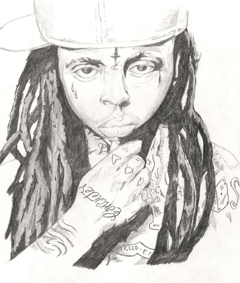 Lil Wayne Face Colouring Pages Lil Wayne Coloring Pages