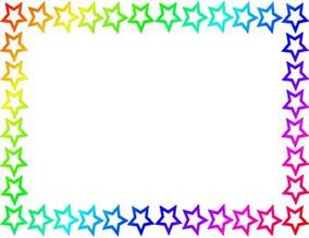 colorful page border clipart best