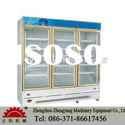 Tempered Glass Advan energy drink display cooler energy drink display cooler manufacturers in