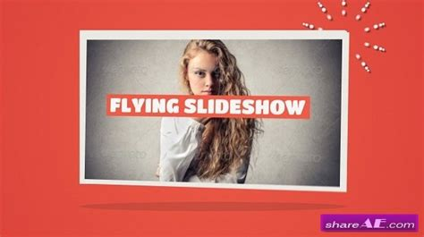 flying slideshow after effects project videohive