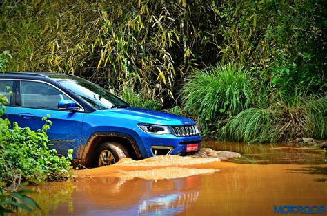 indian car on road made in india jeep compass review and off road test