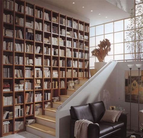 modern home library design ideas contemporary home book shelves for personal library decorating and design in